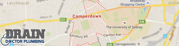 Plumbing service for Camperdown
