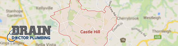 Our plumbing service is available in Castle Hill